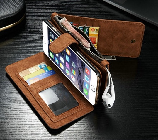 Iphone Leather Wallet